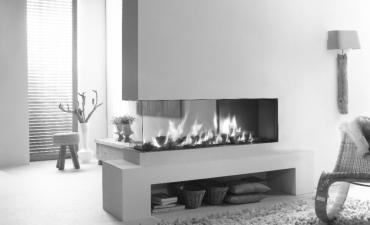 Element4 cheminée gaz