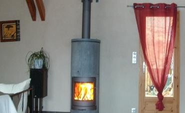 Poêle à bois rayonnant Saint Marcellin
